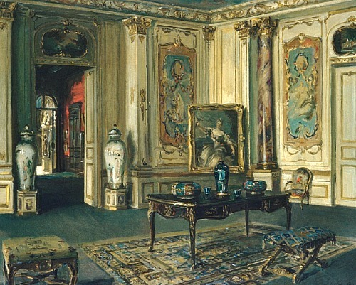 Walter Gay Le Grand Salon, Musée Jacquemart-André 1900-13