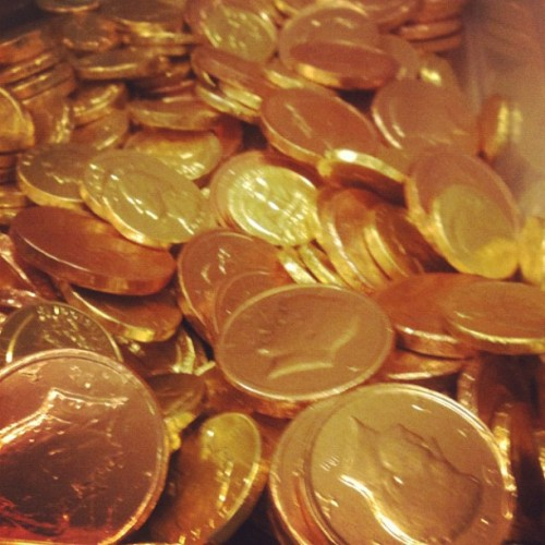 Collect coins and jump in my basement @jenoogs @bkbap (Taken with Instagram)