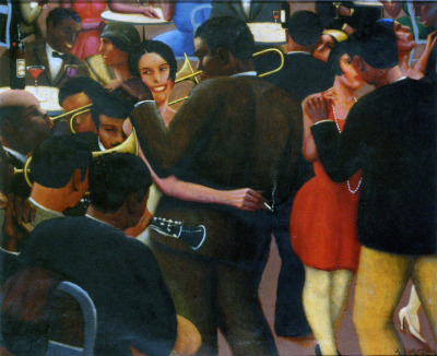blackcurator:  Blues (1929) Archibald J. Motley