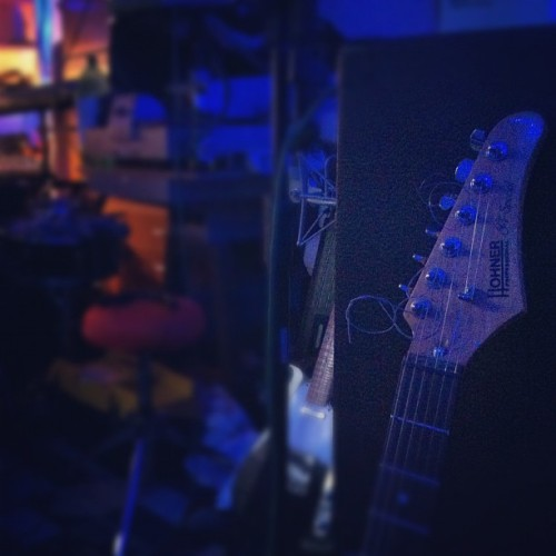 We're in the studio!! #recording #studio #guitar #ska #reggae #chill (Taken with Instagram)