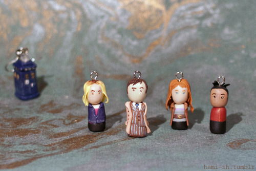 The Doctor & companions (Ten) + bonus Cassandra: