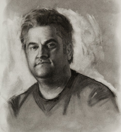 Jim | 11 x 14 inches | charcoal on Strathmore 400