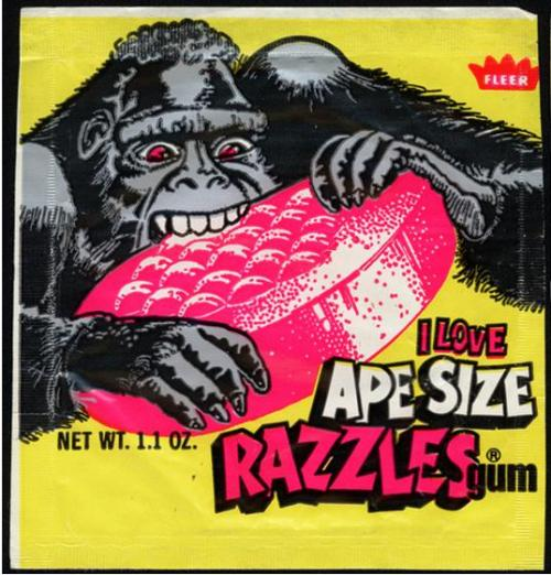 Sometimes I go APE for vintage packaging! Get it?