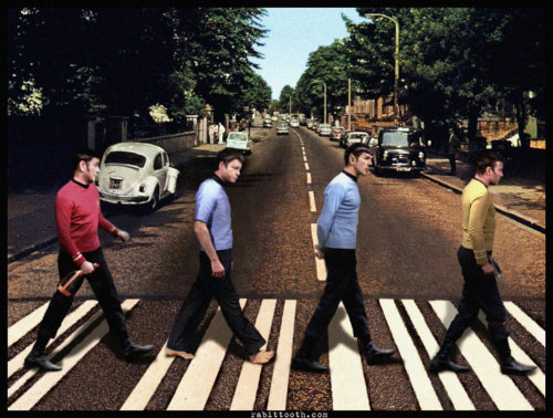 star-trek:  Star Trek Abbey Road by ~Rabittooth (#deviantart)