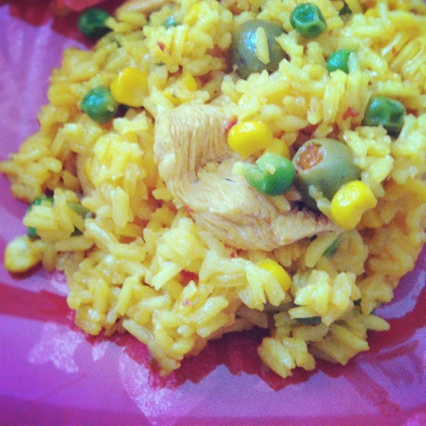 Arroz con pollo. My boys love this! #nomnomnom #dinner  (Taken with Instagram)