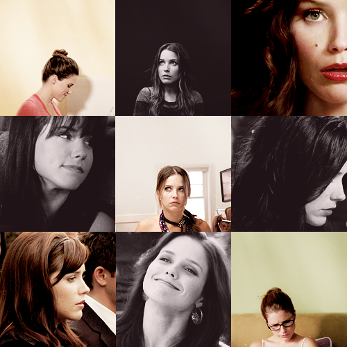 julian-baker:  9 pictures of brooke davis - requested by anon.