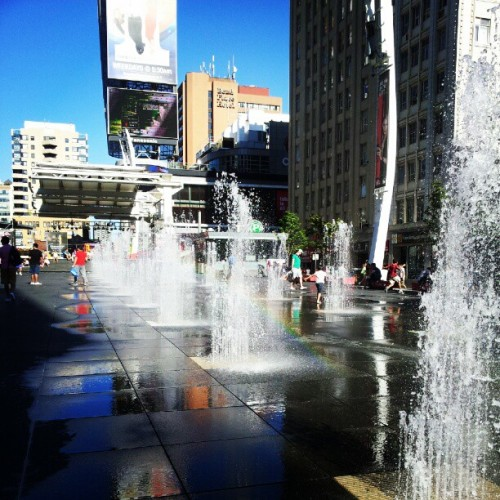 Summer (Taken with Instagram at Yonge-Dundas Square)