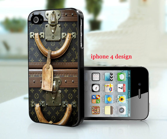 Louis Vuitton Luggage Iphone Case by IPhone4Design I just got this Case and I Love it! It's Fashionable and Definitely Unique! Quality is Great! You can get your case personalized as well! Check out their shop, IPhone4Design, for more details!  posted by http://aliljazz.tumblr.com