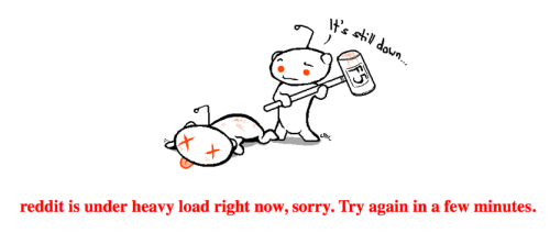 futurejournalismproject:  Reddit Crashes. Blame Obama. President Obama is/was starting an AMA (Ask Me Anything) appearance on Reddit and the service buckled under. It's back up though. You can follow the thread here. Reddit, I am Barack Obama, President of the United States — AMA.
