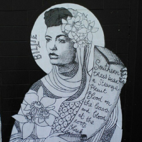 #Lovely #wheatpaste of #Billie #Holiday, #Montreal #Quebec #Canada. #street #art #streetart #jazz #graffiti #streetart #cool #instamood #instahub #instagramhub #webstagram (Taken with Instagram)