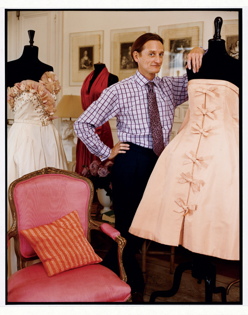 vogue:  Vogue's Hamish Bowles photographed by François Halard, February 2009Honoring the 120th Anniversary: Hamish Bowles Shares His Vogue Story