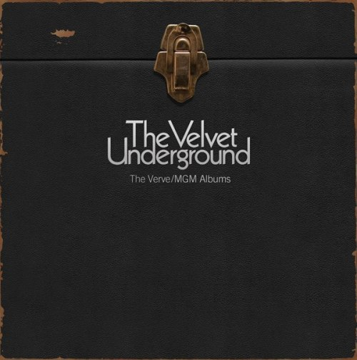 "The lid for Sundazed's forthcoming Velvet Underground ""Verve/MGM Albums"" vinyl box set. All mono (except the unreleased fourth), all from masters, all damn wonderful!"