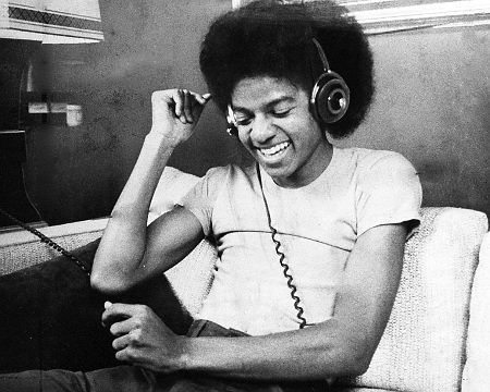 chagak:  A young man enjoying his music. Michael mid-70s.