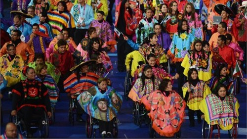 fuckyeahlatinamericanhistory:  The Mexican delegation at the Paralympics Opening Ceremony.