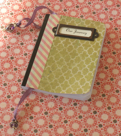 soapdeli:  DIY Decoupage Address Book - Mod Podge Craft Project Idea