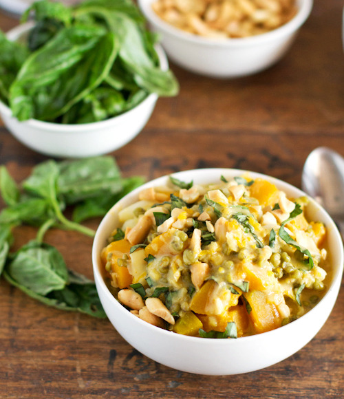 (via Thai Basil Coconut Lentils — Pinch of Yum)