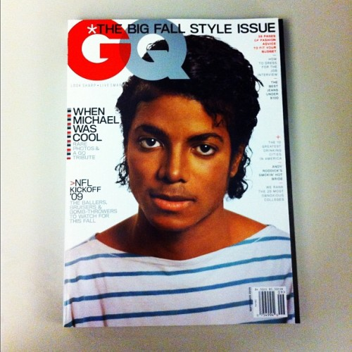 gqfashion:  Happy birthday, MJ. Long live the King of Pop. (Taken with Instagram)  Gone too soon.