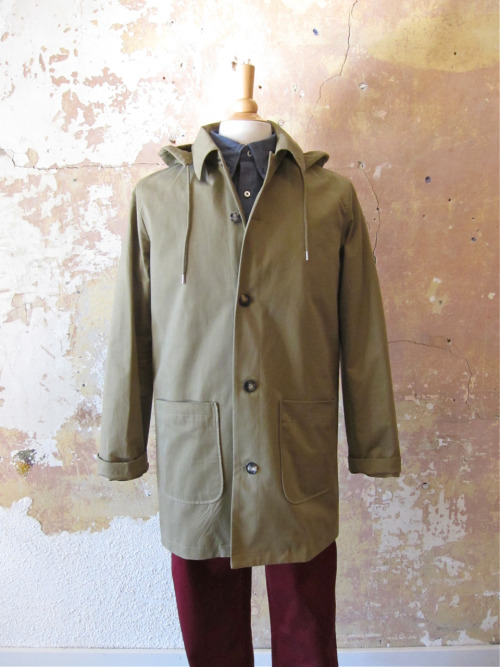 Fall's finest: parka mac by APC