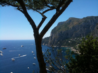 On Vacation.  Capri, Italy, 2011.  Kevin Carrigan