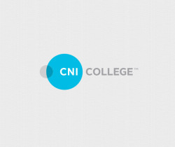 CNI COLLEGE Building a new modern image to present an already successful brand, CNI college was looking to gently refresh their logo to fit an updated website.