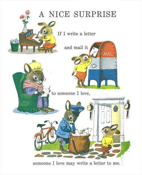 pretty sure this drawing is by the wonderful Richard Scarry