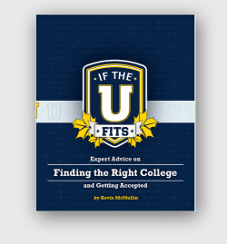 IF THE U FITS Building upon the success of Collegewise, founder Kevin McMullin continues to develop resources to high school students searching for and applying to colleges nationwide. This resource is the largest to date, a 271 page book, available via print-on-demand and ePub. We designed a book cover and layout for the book, then created an alternative layout for the ePub version of the book.