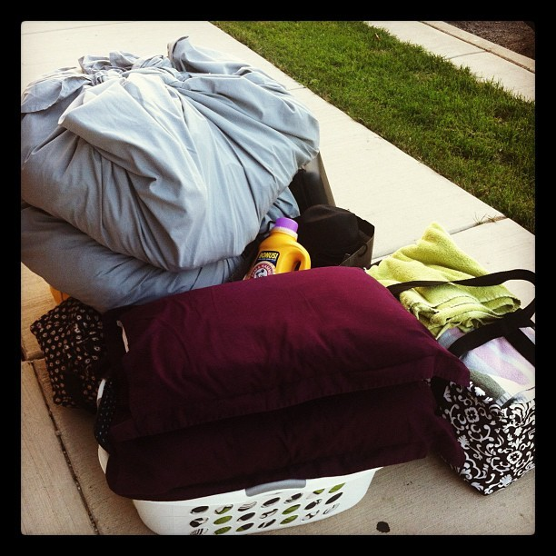 My life for the next month. So long Catalpa. #moving #stress  (Taken with Instagram at Catalpa)