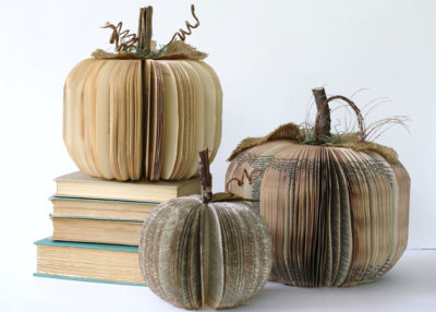 bookporn:  Book Pumpkins by Hi Butterfly   For  Halloween