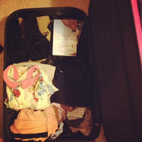 niveous:  Packing for boarding school eep (Taken with Instagram)