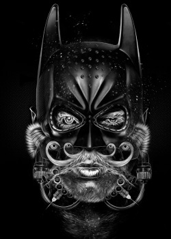 Fantasmagorik Batman Comic Face