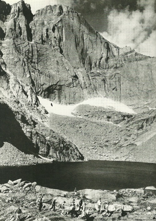 vintagenatgeographic:  Longs Peak, Colorado National Geographic | August 1954