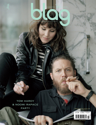 bohemea:  Tom Hardy & Noomi Rapace - BLAG #3 by Sarah J. Edwards I want to live inside this picture's world!