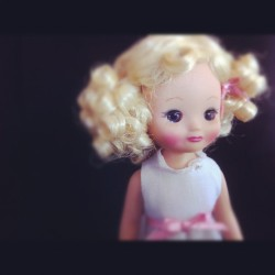 Blondie. #cute #doll #tinybetsy #betsymccall #toy #toystagram #toyphotography #girly #girl #photooftheday #tweegram  (Taken with Instagram)