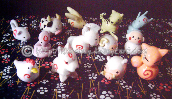 animecorecollection:  Okami : zodiac by ~Kie-chan