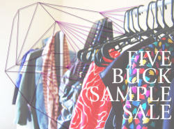 FIVE DOLLAR SAMPLE SALE!!!! END OF SUMMER 1/2 OFF CLEARANCE SALE!!!!!