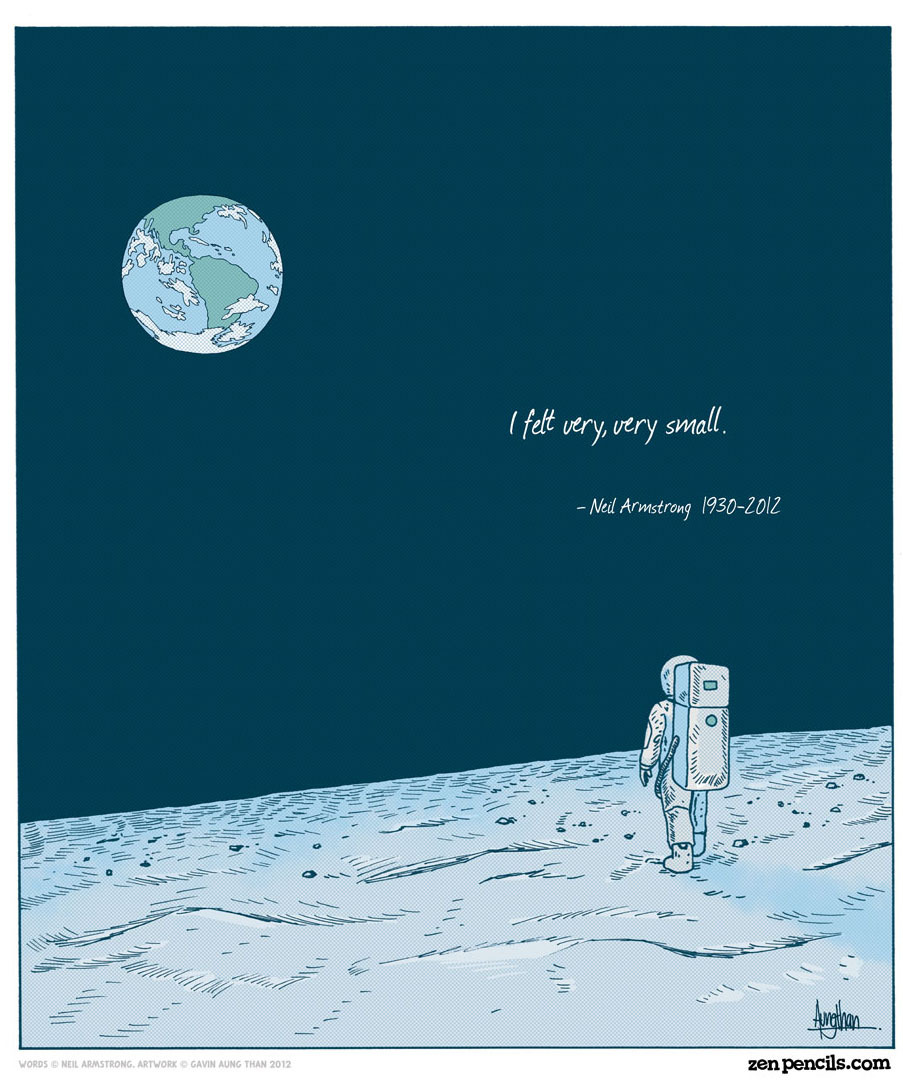 oldblueeyes:  Neil Armstrong: A giant among men. (x)