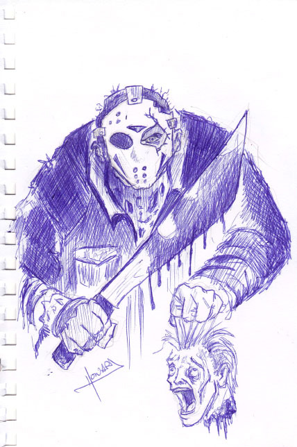 Jason Vorhees - 15-Minute Sketch