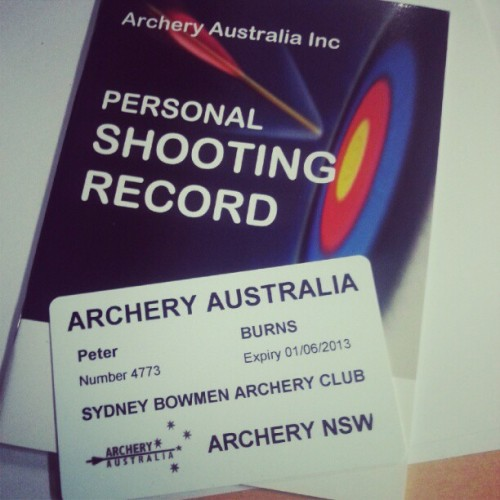 Wanna shoot some arrows, @hexsteph?   (Taken with Instagram)