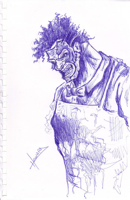 Leatherface - Texas Chainsaw Massacre - 15-Minute Sketch