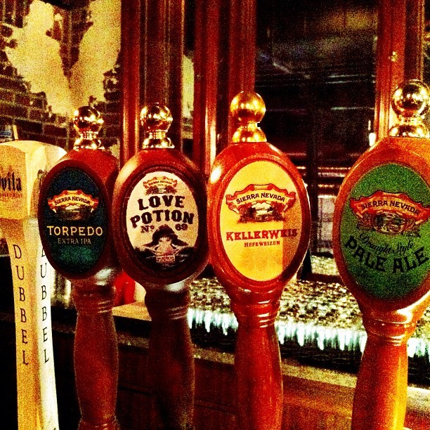 #SierraNevada Beer Dinner at The Pub. (Taken with Instagram at The Pub at Monte Carlo)