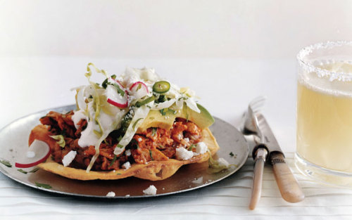 Chicken Tostadasa