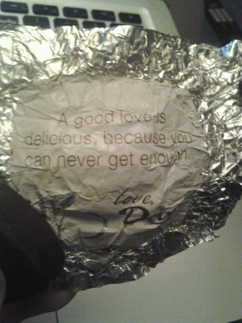 I am going to marry this chocolate.