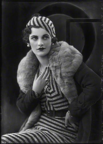 Sharped dressed woman… Margaret Campbell, Duchess of Argyll By Bassano, 1932