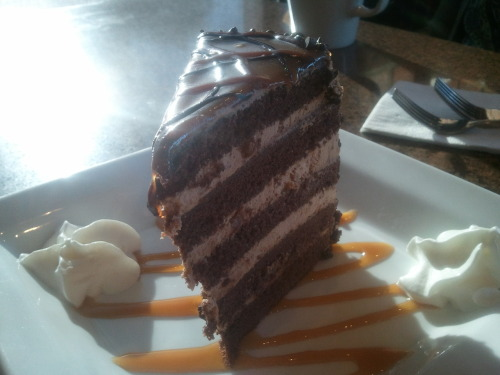 August 29th, 2012 Dear Coffee Culture, Thank you for making a chocolate cake, it helps to relieve pain. From, Me