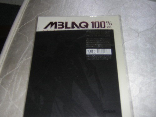 MBLAQ - 100% 4th Mini AlbumInfo: NEW in platic, i only used once to copy songs,if you would like to view more pictures just contact me by email or tumblrSwap:noPrice:$16Shipping:$1Location: USA chicago IL, - US BUYER ONLYContact: Angie by email, reyesangie41@yahoo.com or tumblr ask http://grumpy-but-goofy-always-a-tweak.tumblr.com/ask
