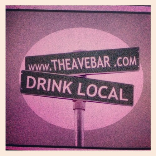 having some drinks at my local watering whole. #drink #sf #avebar #bar #beer #liquor #dj #wine #fun #music (Taken with Instagram at The Ave Bar)
