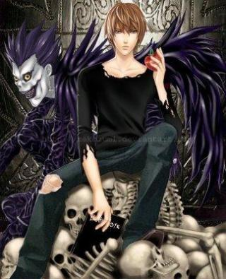 "I am watching Death Note                   ""Justice""                                Check-in to               Death Note on GetGlue.com"