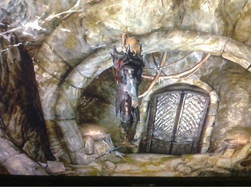 I found a floating sword I can jump on in Folgunthur Crypt