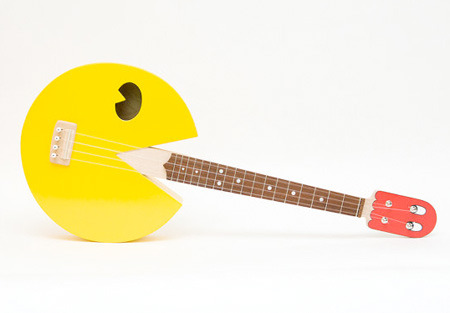 It's a Pac-Man Ukulele, what isn't right about this? toxel.com