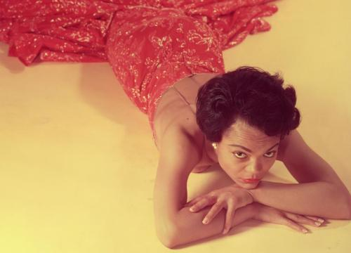 Eartha Kitt photographed by Philippe Halsman in 1954